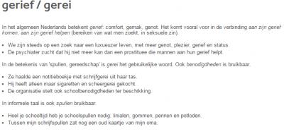 gerief taalbank VRT