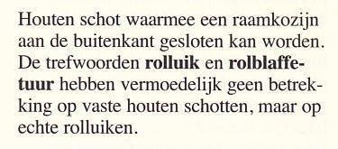uit aflevering 2.1 De woning van het Woordenboek van de Brabantse Dialecten