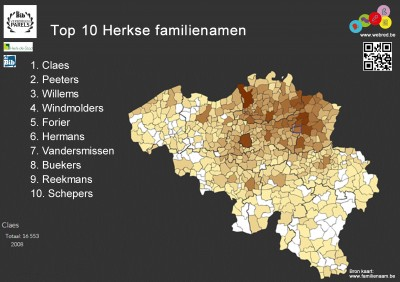 familienamen Herk-de-Stad