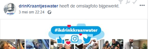 drinkraantjeswater kraanwater