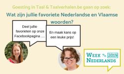 Week van het Nederlands 2019